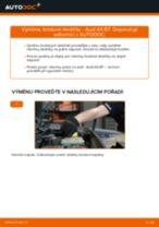 Instalace Brzdové Destičky AUDI A4 (8EC, B7) - příručky krok za krokem