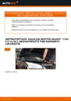 Πώς να αλλάξετε λαδια και φιλτρα λαδιου σε Ford Focus MK2 βενζίνη - Οδηγίες αντικατάστασης