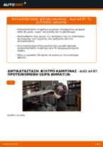 Αλλαγή Μπροστινή επένδυση AUDI A4: online εγχειριδιο