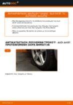 Πώς να αλλάξετε ρουλεμάν τροχού εμπρός σε Audi A4 B7 - Οδηγίες αντικατάστασης