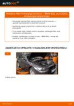 Kako zamenjati avtodel filter notranjega prostora na avtu BMW E92 – vodnik menjave