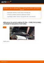 Kako zamenjati avtodel motorna olja in filter na avtu Ford Focus MK2 bensin – vodnik menjave