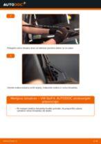 Zamenjavo Metlice brisalcev VW GOLF: brezplačen pdf