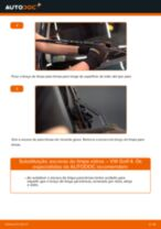 Substituição Escovas limpa para brisas VW GOLF: pdf gratuito