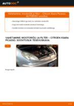 MANN-FILTER W 914/28 eest XSARA PICASSO (N68) | PDF asendamise õpetused