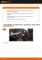 Siit saate teada, kuidas AUDI Salongifilter hädasid lahendada