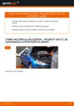 Autószerelői ajánlások - PEUGEOT 207 (WA_, WC_) 1.6 HDi Fékbetét cseréje