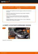 Pollenszűrő-csere BMW E92 gépkocsin – Útmutató