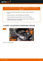 Motorolaj és szűrők-csere BMW E92 gépkocsin – Útmutató