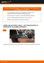 Online kézikönyv – saját kezű SEAT AROSA Axiális Csukló Vezetőkar csere