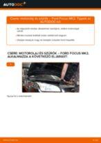 FORD FOCUS Féknyereg cseréje : ingyenes pdf