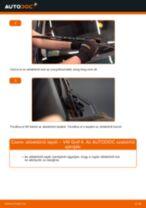 Online kézikönyv – saját kezű ROVER 200 Hatchback (XW) Kerékcsapágy készlet csere