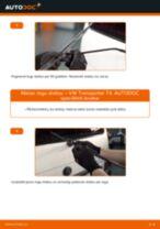 VW TRANSPORTER Stikla tīrītāja slotiņa nomaiņa: rokasgrāmata