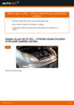 Kā nomainīt un noregulēt Kronšteins, Stabilizatora bukse: bezmaksas pdf ceļvedis