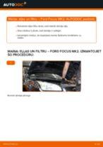 FORD Eļļas filtrs nomaiņa dari-to-pats - tiešsaistes instrukcijas pdf