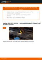 Mainīties AUDI A4 Avant (8E5, B6) Bremžu uzlikas - soli-pa-solim pamācības PDF