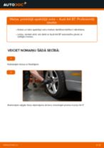 Audi A4 b6 instrukcijas par remontu un apkopi