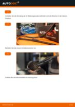 Anleitung: Peugeot 206 CC 2D Scheibenwischer vorne wechseln