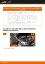 Wie Pollenfilter BMW 3 SERIES tauschen und einstellen: PDF-Tutorial