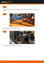 Wie Peugeot 206 CC 2D Scheibenwischer vorne wechseln - Schritt für Schritt Anleitung