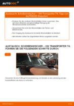 Wie VW Transporter T4 Scheibenwischer vorne wechseln - Anleitung