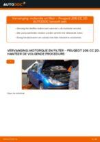 Tutorial voor het Filter vervangen en repareren van voertuig