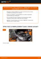Comment changer : filtre d'habitacle sur BMW E92 - Guide de remplacement