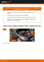 Changement Filtre à Huile BMW 3 Coupe (E92) : guide pdf