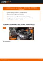 Udskift motorolie og filter - BMW E92   Brugeranvisning