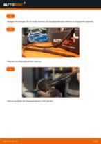 Cómo cambiar: escobillas limpiaparabrisas de la parte delantera - Peugeot 206 CC 2D | Guía de sustitución