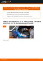 PEUGEOT huolto - käsikirja pdf