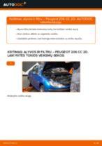Automechanikų rekomendacijos PEUGEOT Peugeot 307 SW 1.6 16V Paskirstymo diržas / komplektas keitimui