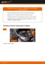 Kaip pakeisti BMW E92 variklio alyvos ir alyvos filtra - keitimo instrukcija