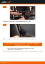 Cum să schimbați: stergatoare parbriz din față la VW Golf 4 | Ghid de înlocuire