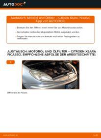 Wie der Wechsel durchführt wird: Ölfilter 2.0 HDi Citroen Xsara Picasso tauschen