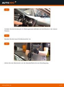 Wie der Wechsel durchführt wird: Scheibenwischer 3.0 TDI quattro Audi A6 C6 tauschen