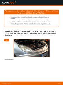 Comment effectuer un remplacement de Filtre à Huile sur 2.0 HDi Citroën Xsara Picasso