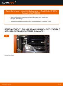 Comment effectuer un remplacement de Bougies d'Allumage sur 1.9 CDTI (M75) Opel Zafira B