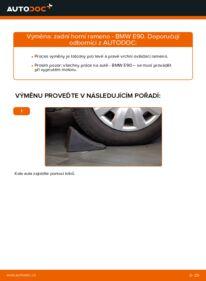 Jak provést výměnu: Rameno Zavesenia Kolies na 320d 2.0 BMW E90