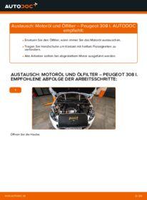 Wie der Wechsel durchführt wird: Ölfilter 1.6 HDi Peugeot 308 I tauschen