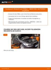 Wie der Wechsel durchführt wird: Ölfilter 335i 3.0 BMW E92 tauschen
