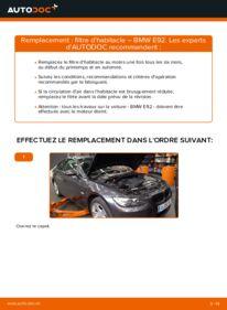 Comment effectuer un remplacement de Filtre d'Habitacle sur 335i 3.0 BMW E92