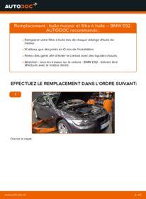 Comment effectuer un remplacement de Filtre à Huile sur 335i 3.0 BMW E92