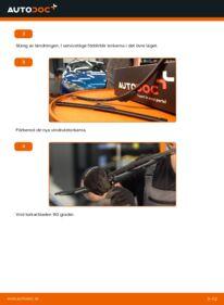 Så byter du Torkarblad på 1.6 16V Peugeot 206 cc 2d