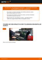 PDF Wechsel Anleitung: Kofferraum Dämpfer AUDI A6 Avant (4B5, C5) elektrisch