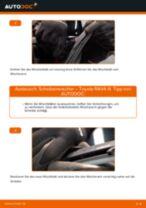 Montage Bremszug TOYOTA RAV 4 III (ACA3_, ACE_, ALA3_, GSA3_, ZSA3_) - Schritt für Schritt Anleitung