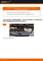 Wie Getriebehalter TOYOTA PRIUS tauschen und einstellen: PDF-Tutorial
