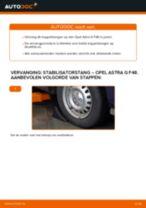 Hoe stabilisatorstang vooraan vervangen bij een Opel Astra G F48 – vervangingshandleiding