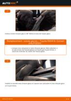 Comment changer : essuie-glaces arrière sur Toyota RAV4 III - Guide de remplacement