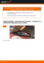 Comment changer : bougies d'allumage sur Citroen C3 1 - Guide de remplacement
